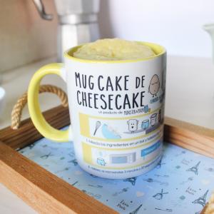 Taza Mug Cake de TARTA DE QUESO