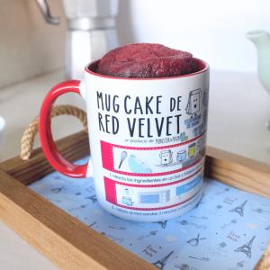 Taza Mug Cake de TARTA RED VELVET