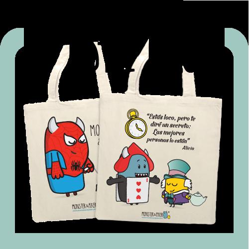 Mochilas y Tote Bags