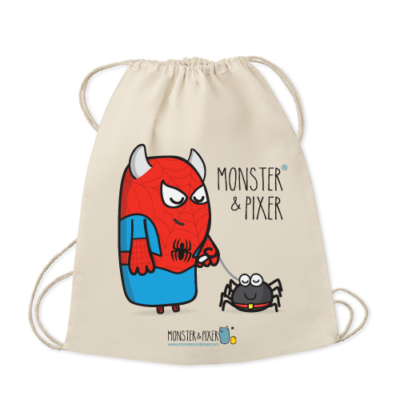 mochila-spiderman-monster-and-pixer