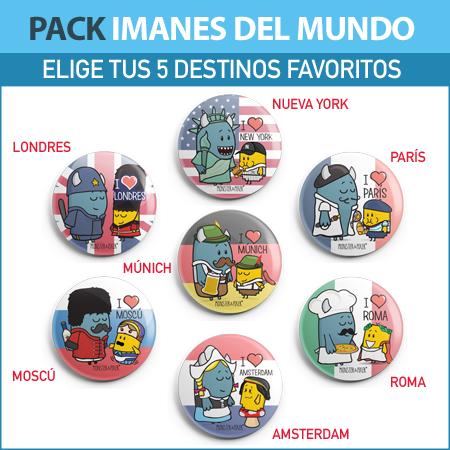PACK DE IMANES MONSTER & PIXER