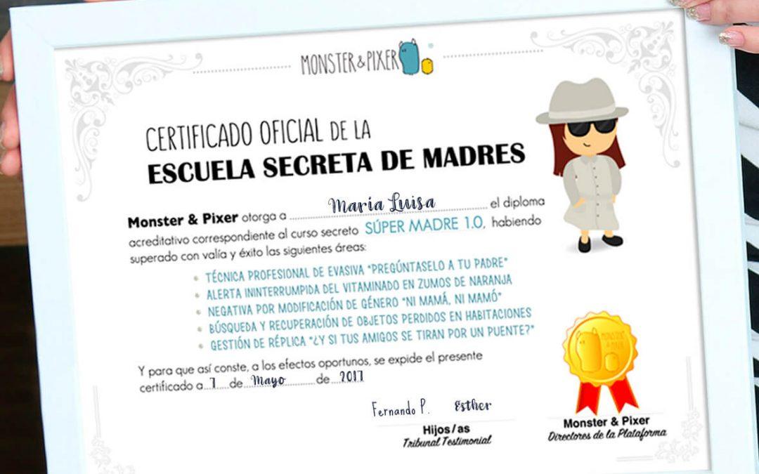 Descargable gratuito – Diploma para madres 1.0