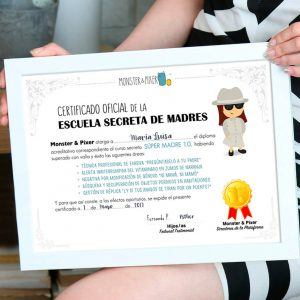 Descargable gratuito – Diploma para madres