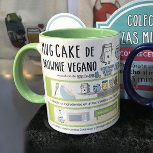 Taza Mug Cake de BROWNIE VEGANO