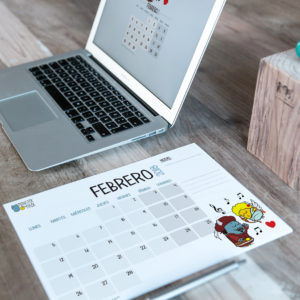 Descargable gratuito – Calendario Febrero