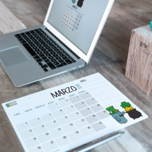 Descargable gratuito – Calendario Marzo