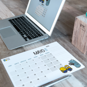 Descargable gratuito – Calendario Mayo