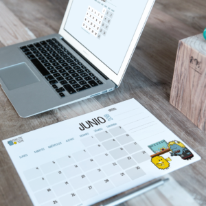 Descargable gratuito – Calendario Junio