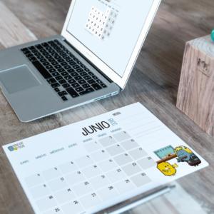 Descargable gratuito – Calendario Junio