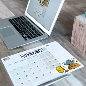 Descargable gratuito – Calendario Noviembre