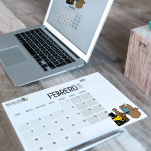 Descargable gratuito – Calendario Febrero 2019
