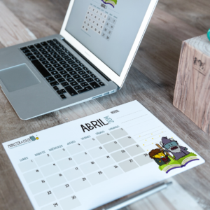 Descargable gratuito – Calendario Abril 2019