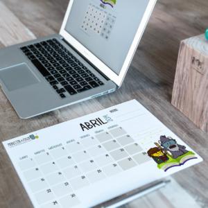Descargable gratuito – Calendario Abril 2019