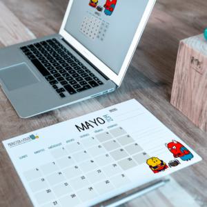Descargable gratuito – Calendario Mayo 2019