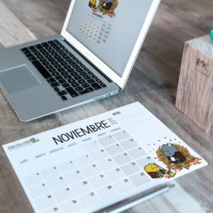 Descargable gratuito – Calendario Noviembre 2019